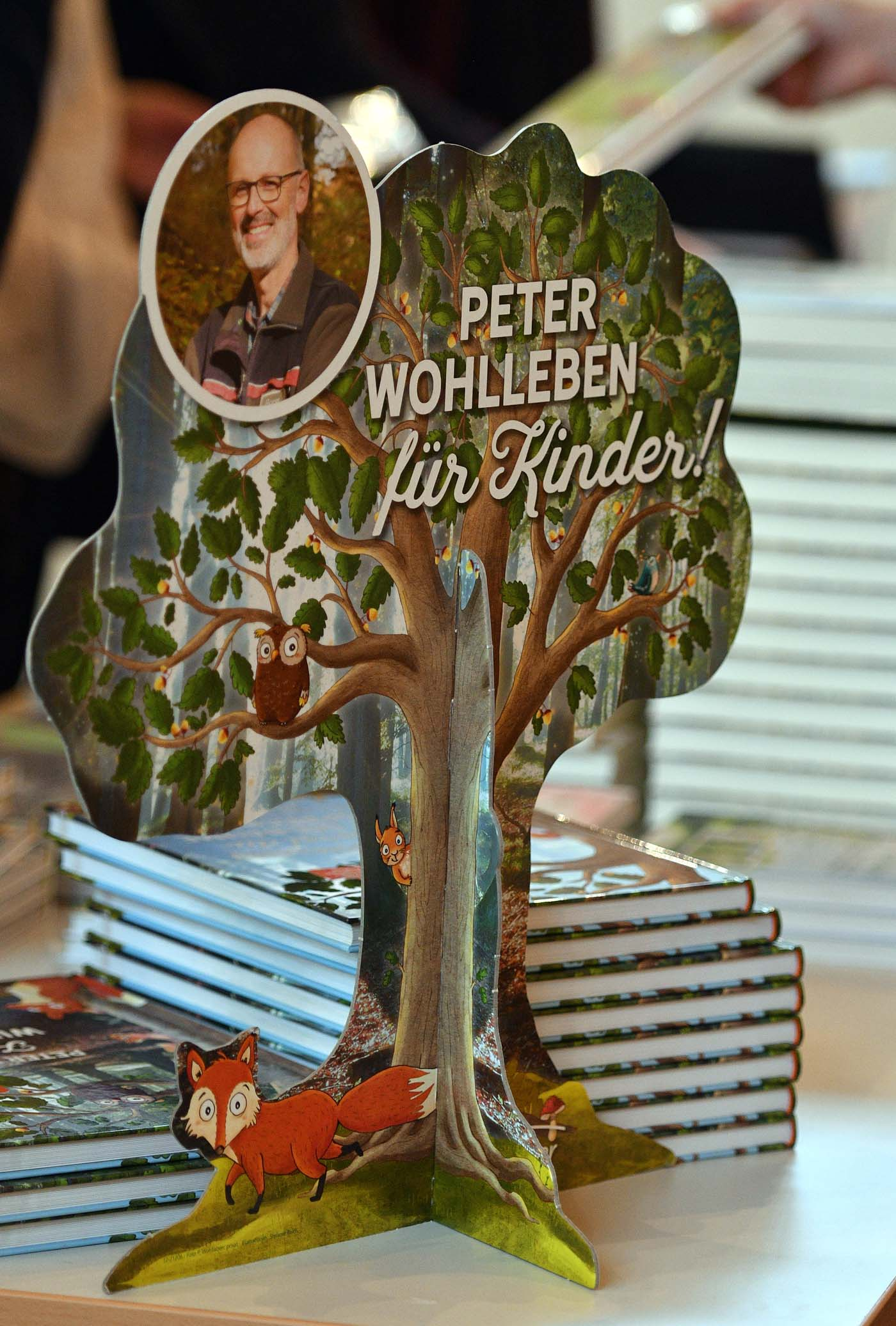 Peter Wohlleben am 13. April 2018 in Prüm