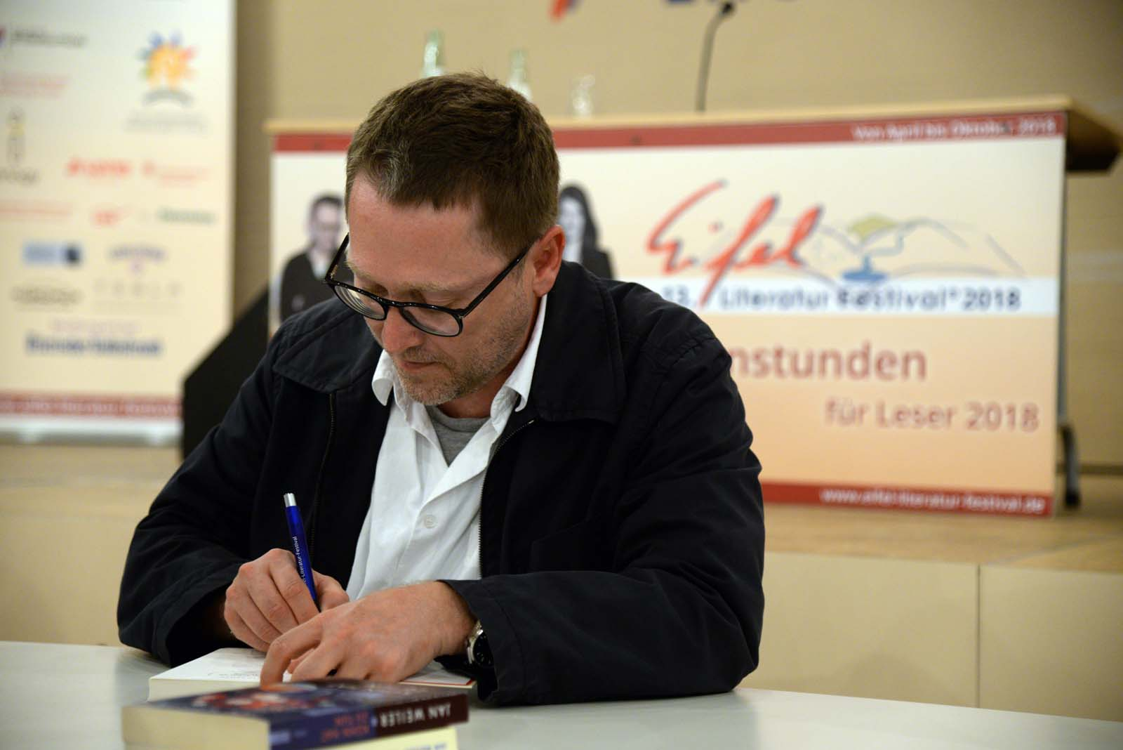 Jan Weiler am 8. Juni 2018 in Prüm