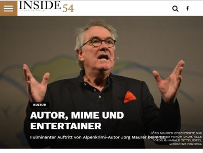 Autor, Mime und Entertainer